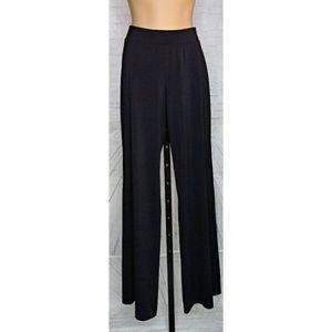 NWT Tahari Black Knit Carlianne Pants SZ Small